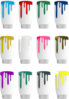 Paint Colors Dripping Clip Art