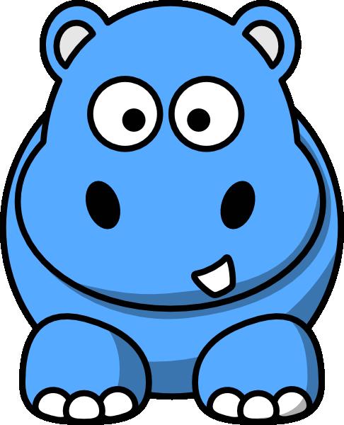 free clip art hippo cartoon - photo #11