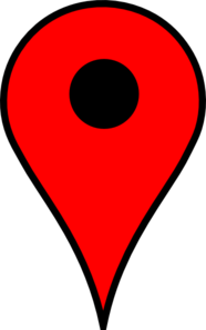 Map Marker Red Clip Art