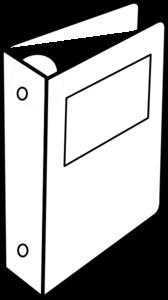 Binder Clip Art at Clker.com - vector clip art online, royalty free ...