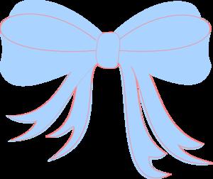 Baby Blue Ribbon Clip Art at Clker.com - vector clip art online ...