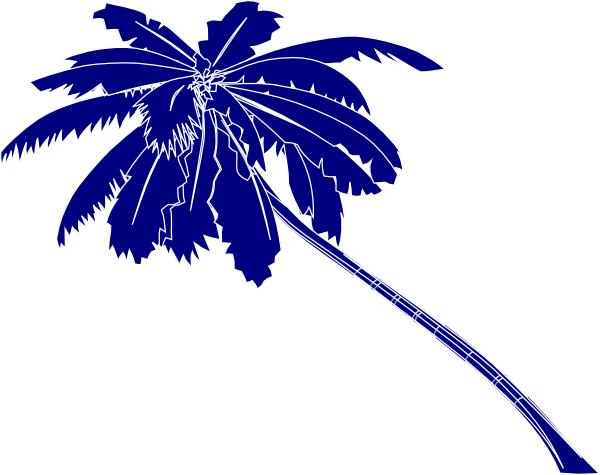 trees palm blue - photo #32