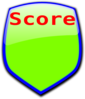 Score Triangle Greeen Clip Art
