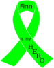 Lymphoma Awareness Ribbon Clip Art
