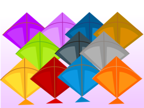 Kite Shop Clip Art