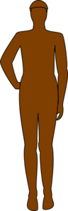 Brown Man Clip Art