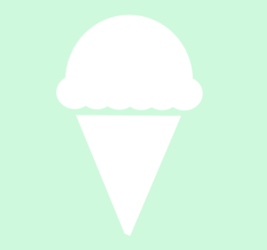 Mint Ice Cream Cone Clip Art