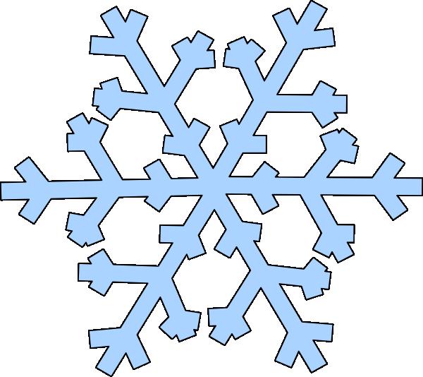 green snowflake clip art at clker com vector clip art online rh clker com clip art snowflake images clip art snowflake