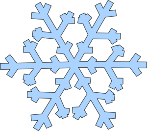 green snowflake clip art at clker com vector clip art online rh clker com clip art snowflakes free jpg clipart snowflakes falling