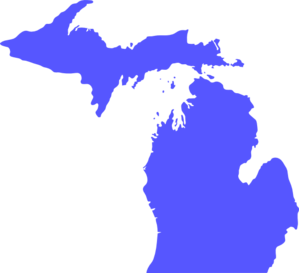 Michigan Svg  Clip Art