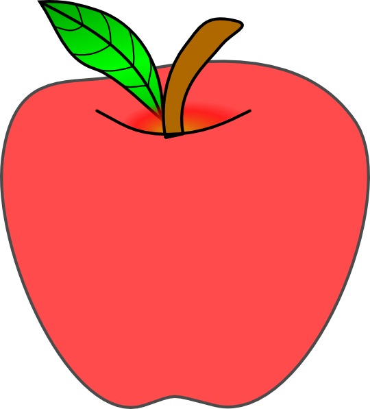 clipart picture of apple - photo #50