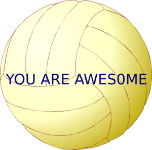 You Are Awesome Clip Art