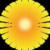 Sunray Background Clip Art at Clker.com - vector clip art ...