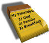 Personal Priorities Clip Art
