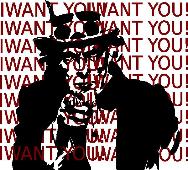 clip art i want you - photo #6