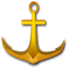 Golden Anchor Clip Art