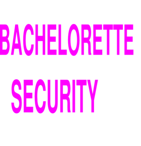 Bachelorette Security 2 Clip Art