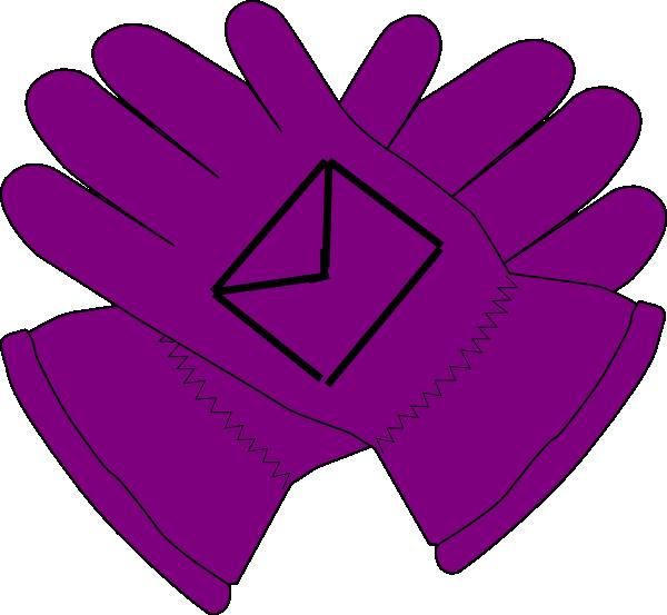 purple gloves envelope clip art at clker com vector clip art rh clker com glove clip art free boxing glove clipart