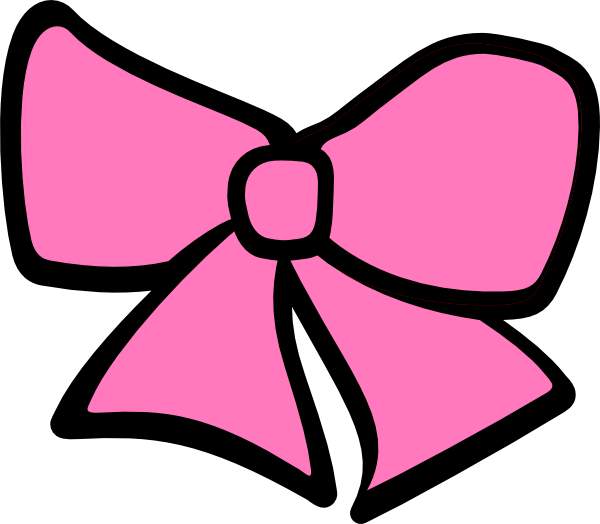 Birth Hair Bow Clip Art at Clker.com - vector clip art ...