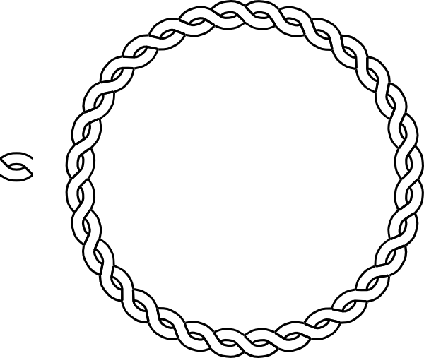 clipart rope border circle - photo #2