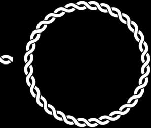 Rope Border Circle Clip Art