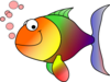Rainbow Fish Clip Art