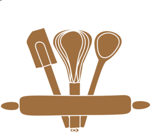 Baking Utensils Clip Art at Clker.com - vector clip art online ...