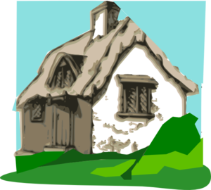 Cottage Clip Art At Clker