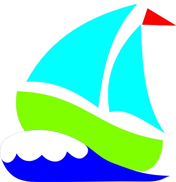 Green Sailboat Clip Art at Clker.com - vector clip art ...