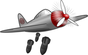 Air Attack Clip Art