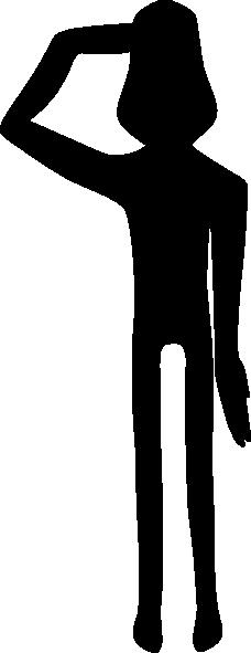 Salute Clipart Salute clip art - vector clip