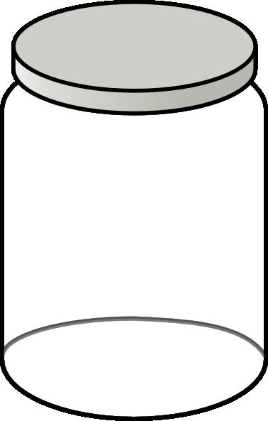Clear Jar clip art