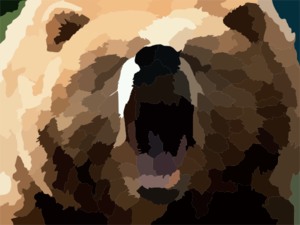 Bear Share Clip Art