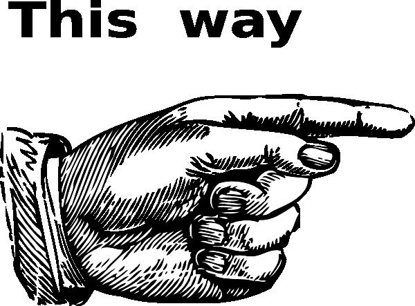direction clip art at clkercom vector clip art online