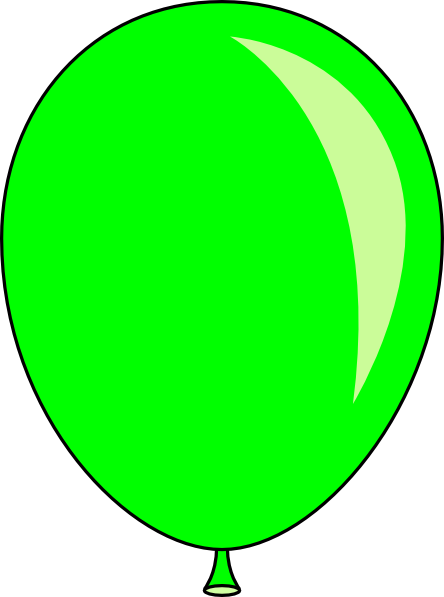 New Green Balloon Clip Art at Clker.com - vector clip art online ...