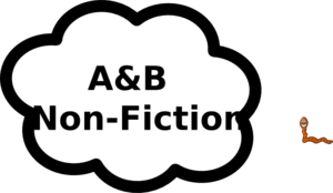 A And B Nonfiction Sign Clip Art