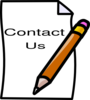 Contact Us Clip Art