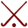 Field Hockey Sticks Clip Art