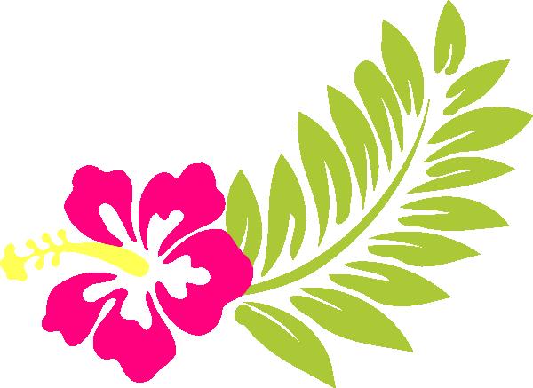 pink hibiscus clip art at clkercom vector clip art
