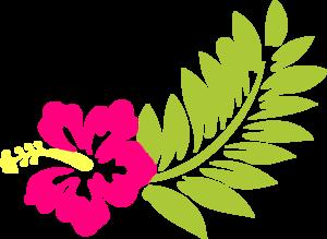 Pink Hibiscus Clip Art at Clker.com - vector clip art ...