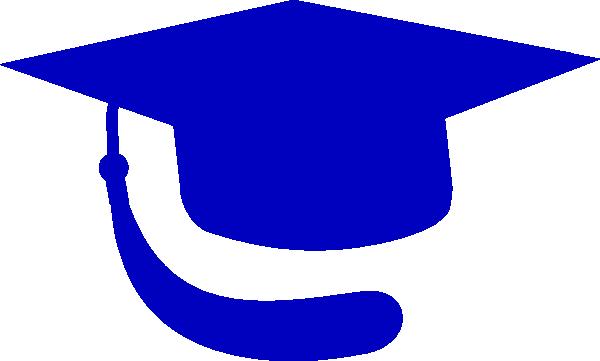 blue hat graduation clip art at clker com vector clip art online rh clker com  graduation 2017 clip art free