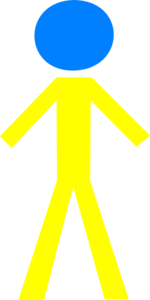 Male Yellow Clip Art