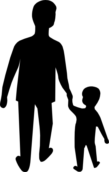father and son clip art at clker com vector clip art online rh clker com dad and son clipart dad and son clipart