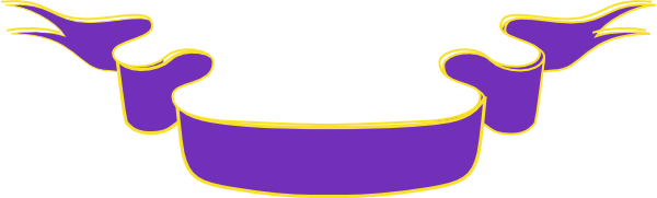 purple ribbon banner clip art at clker com vector clip art online