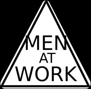 Men At Work Sign Clip Art at Clker.com - vector clip art ...
