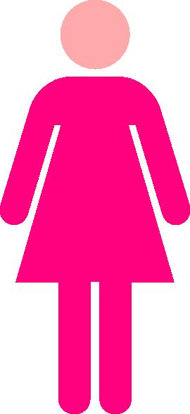 clipart ladies toilet - photo #1