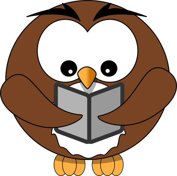 owl book clip art at clker com vector clip art online royalty rh clker com Wise Owl Clip Art Owl Education Clip Art