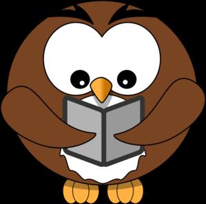 owl book clip art at clker com vector clip art online royalty rh clker com owl reading book clipart Colorful Cartoon Owls