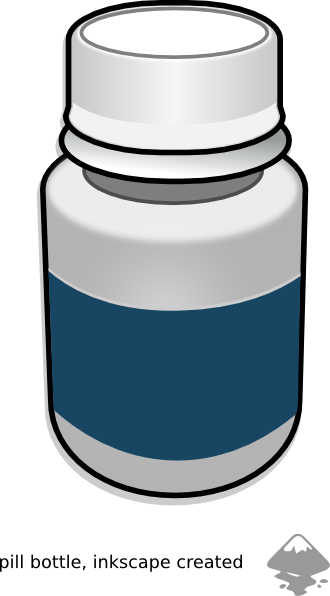 Medicine Pills Bottle Clip Art at Clker.com - vector clip ...