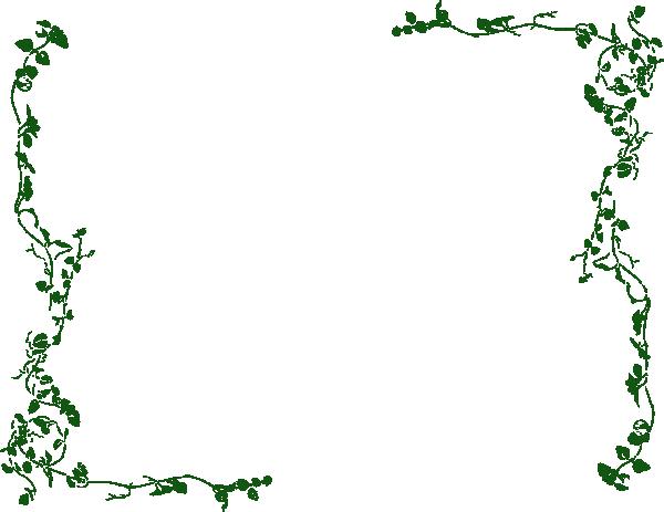 Vine Border Clip Art At Clker.Com - Vector Clip Art Online